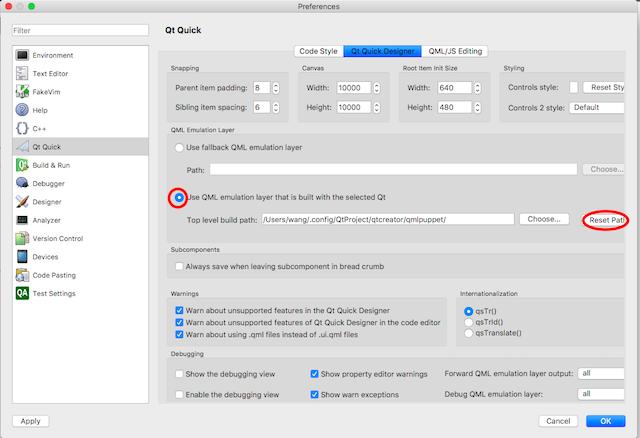 Use in Qt Quick Designer | CSDataQuick Documentation 1 1